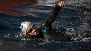 David Meca: Lloraba cada vez que me tiraban al agua