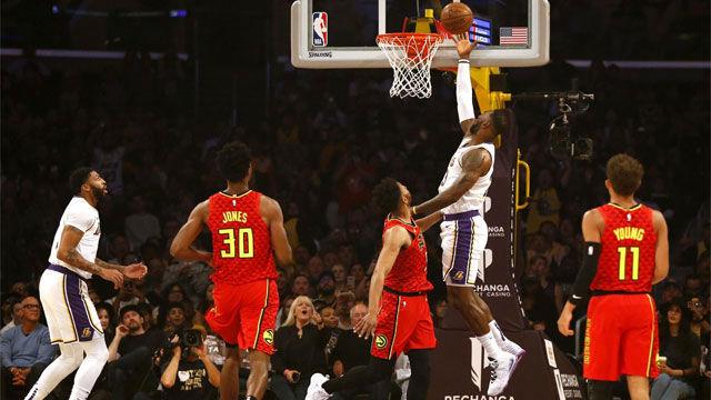 El detalle de LeBron James con Kobe Bryant tras anotar un alley-oop