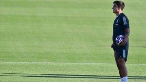 Dybala superó satisfactoriamente el último entrenamiento