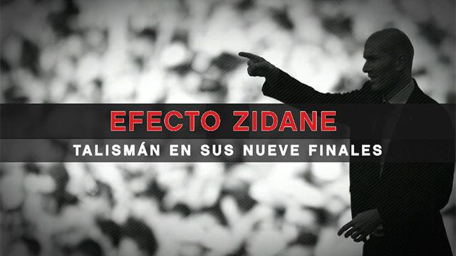 El efecto Zidane, talismán en sus nueve finales