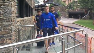 El equipo llegó a Andorra para realizar el stage de pretemporada