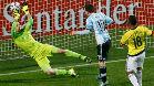 Esta fue la parada de David Opsina en la Copa América