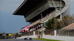 Fernando Alonso acabó segundo en la última jornada de pruebas en Montmeló