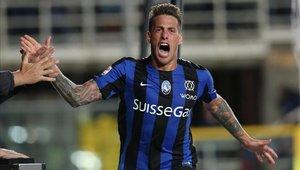 Germán Denis vivió su mejor temporada con el Atalanta de la Serie A
