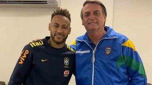 El Gobierno de Bolsonaro apoya a Neymar