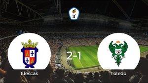 El Illescas vence 2-1 al Toledo en el Municipal de Illescas