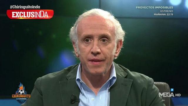 Inda destapa en El Chiringuito la quiebra del vestuario del Real Madrid