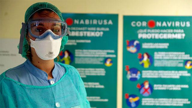 Iragartze Fernández, una linier en la primera línea de la batalla por el coronavirus