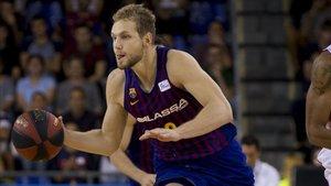 Jaka Blazic está aportando energia al juego del Barça Lassa