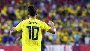 James Rodríguez fue la figura del partido