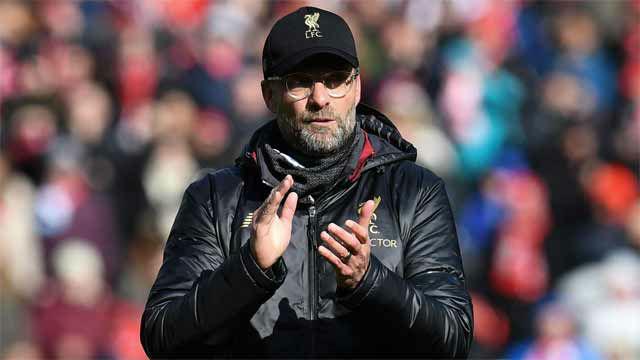 Klopp: Nadie puede apartar al Liverpool en la carrera por la Premier