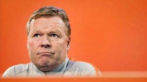 Koeman ha explicado en rueda de prensa como vivió la selección el atentado en Utrecht