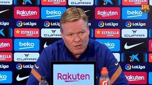 Koeman explicó la razón del descanso de Messi