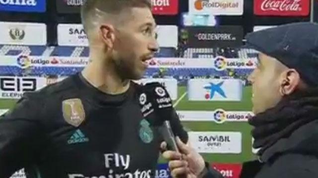 LALIGA | Leganés-Real Madrid: Declaraciones de Sergio Ramos