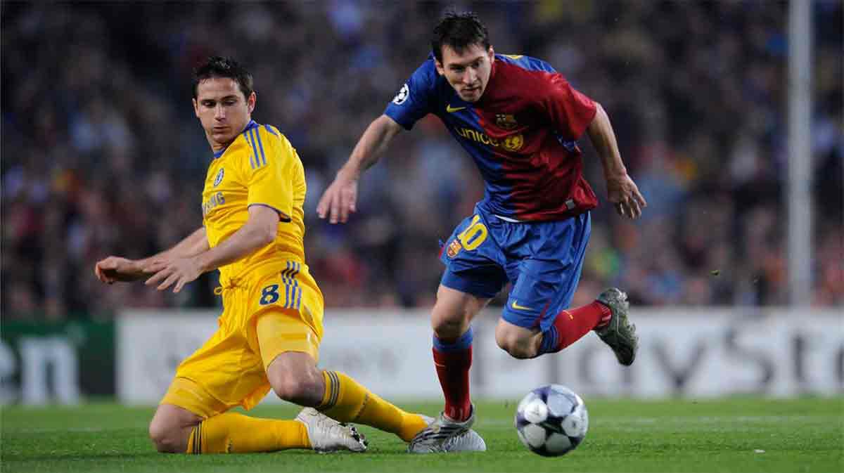 Lampard se decanta por Messi frente a Cristiano