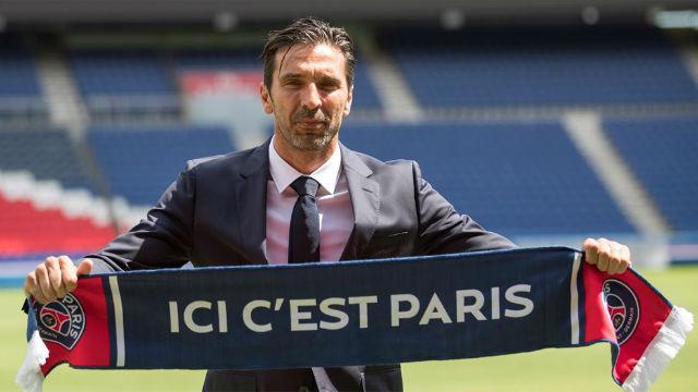 Locura en París por la presentación de Buffon con el PSG