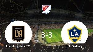 El Los Angeles FC y el LA Galaxy logran un punto después de empatar a 3