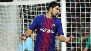 Luis Suárez acompaña a Leo Messi en la lista de trenta finalistas del galardón