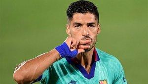 Luis Suárez se despedía del Barça en un emocionante acto