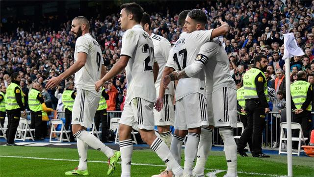 El Madrid sufre para ganar al Valladolid