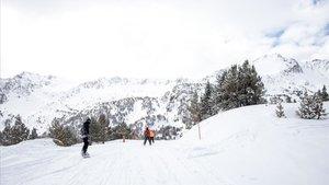 Medio metro de nieve nueva