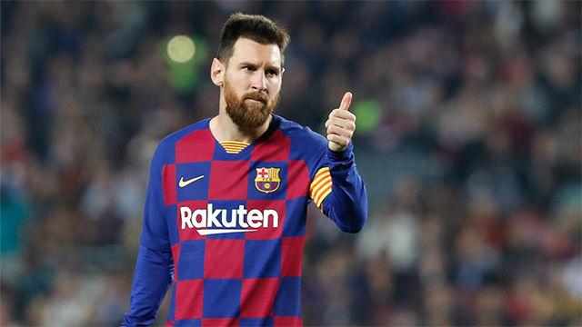 Messi anota su gol número 50 de falta