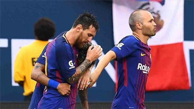 Messi echará de menos a Iniesta