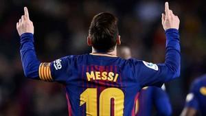 Messi está ante un año histórico. Aspira a su quinta Bota de Oro
