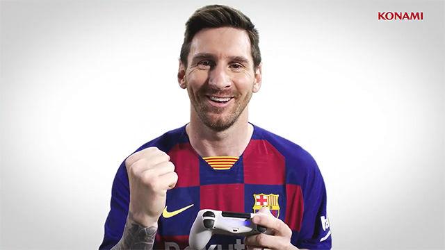 Messi será el protagonista del nuevo PES