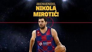 MIrotic, el fichaje estrella del Barça 2019/20