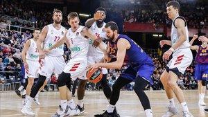 Mirotic tuvo 37 de valoración, su tope personal en Euroliga