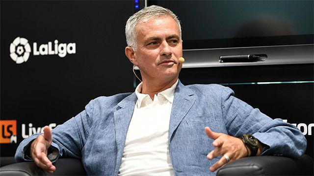 Mourinho: Tengo el orgullo de haber ganado LaLiga en un momento muy difícil