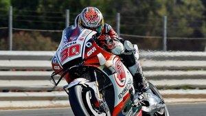 Nakagami lideró el primer entrenamiento libre en Brno