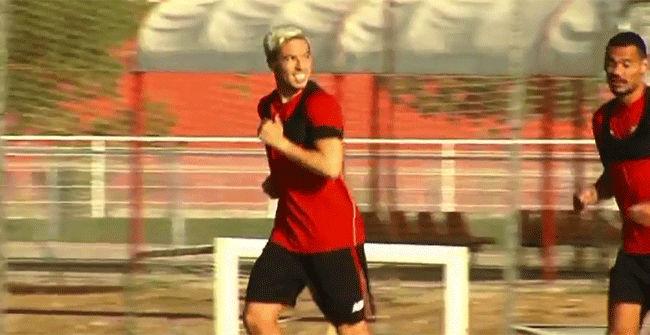 Nasri ya entrena con el Sevilla