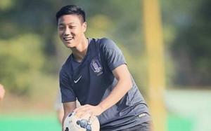 Paik, en un entrenamiento con la selección de Corea