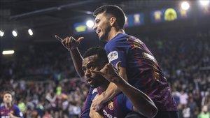 El Palau disfrutó de un partido vibrante
