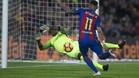 En el partido de la primera vuelta disputado en el Camp Nou, el choque acabó en tablas