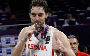 Pau Gasol conquistó otra medalla con España en el pasado Eurobasket