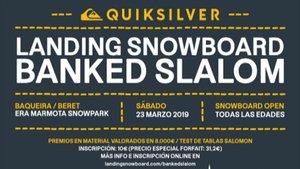 Poster del San Miguel Banked Slalom Tour