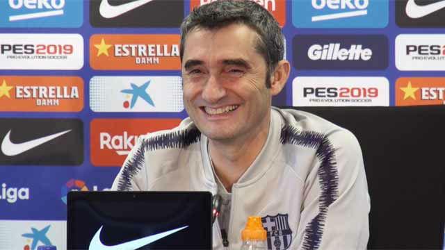 La pregunta que provocó la carcajada de Valverde