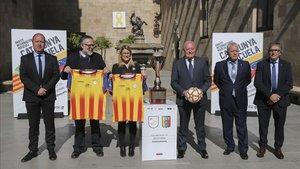 La presentación del Catalunya - Venezuela