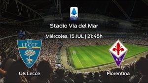 Previa del partido: US Lecce - Fiorentina