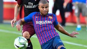 El equipo blaugrana busca la tercera victoria consecutiva para consolidar el  liderato en el Grupo B. Rafinha es el elegido para sustituir a Messi f9ee14ce51e