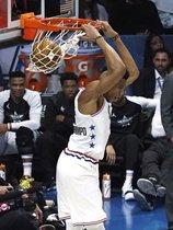 Resumen en imágenes del NBA All Star Game 2019