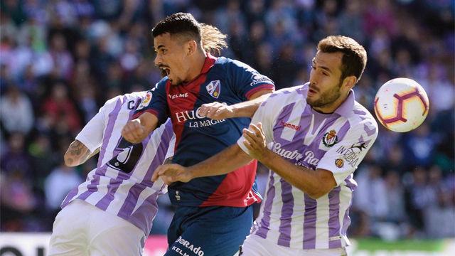 Resumen de la victoria del Valladolid sobre el Huesca