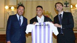 Ronaldo es el propietario del Valladolid