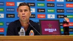 Rubi, entrenador del Espanyol