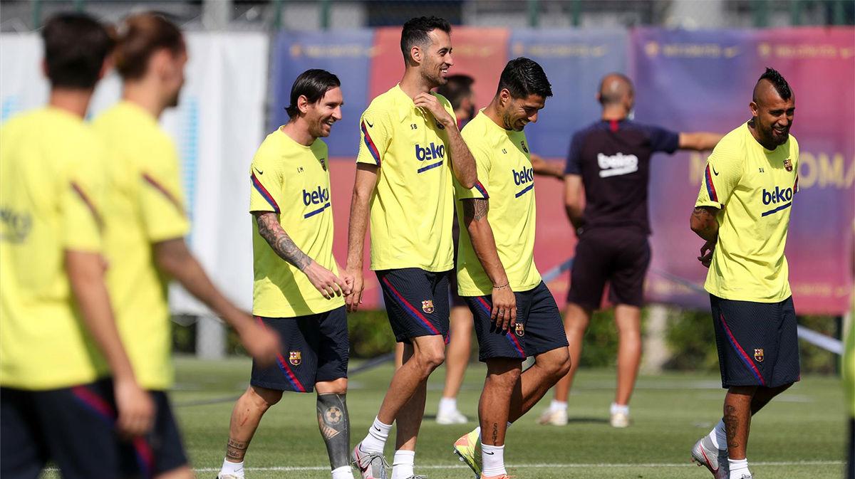Sigue en directo el entrenamiento del Barça antes de Osasuna