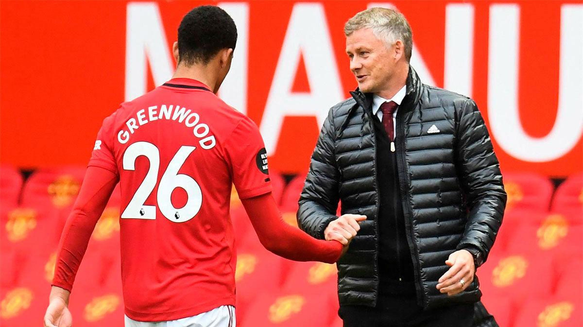 Solskjaer: No es justo comparar a Greenwood con Rooney o Cristiano