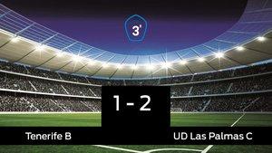 El Tenerife B cae derrotado ante Las Palmas C por 1-2